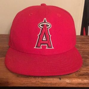Anaheim angels 59fifty 7-5/8 fitted hat